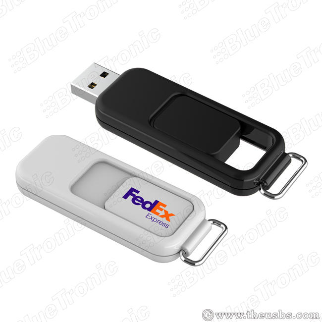 Push USB flash drive full plastic